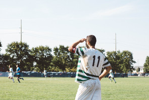 Salazar returns to the soccer field