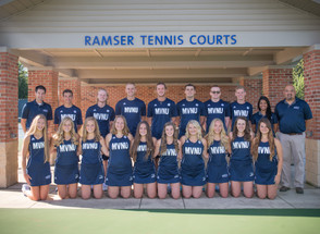 Tennis teams conclude fall season
