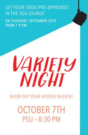 Variety night coming to MVNU campus