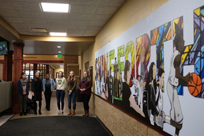 Diversity and creativity celebrated through mural