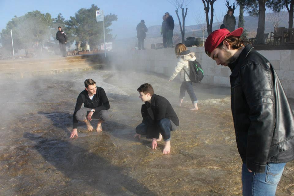 Luke, Annemarie and Mikey on the Hot Springs.jpg