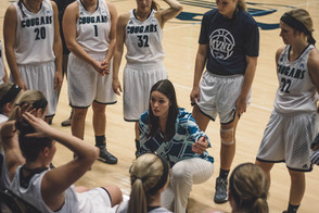 Lady Cougars lose two on the road
