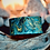 Thumbnail: Hand Marbled Leather Wrist Wraps