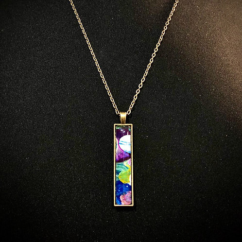 Recycled Paint Pendant