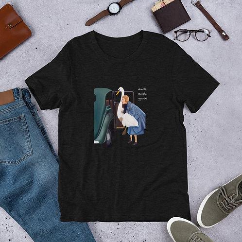 DUCK DUCK GOOSE Painting, Unisex T-Shirt, Art T-Shirt, Fine Art, Gift, Art Lover