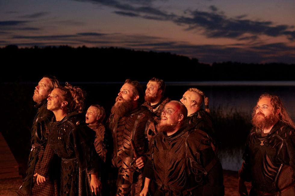 Olav med vikingene
