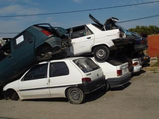 Enlèvement d'épave auto à Marseille