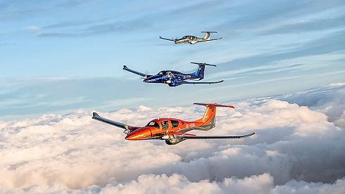 Series of Diamond aircraft DA62 authorized representative in India