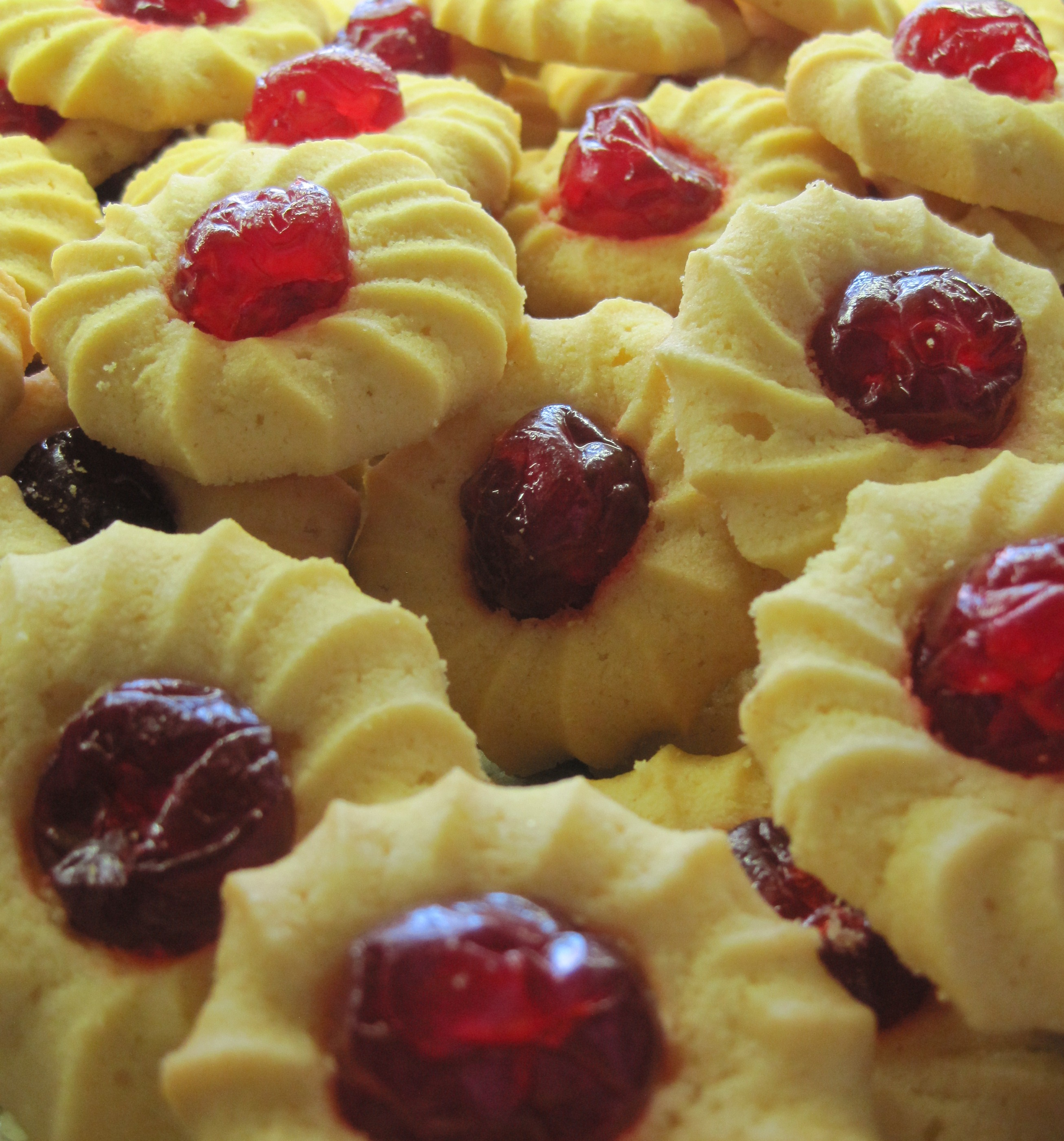 cherry center cookies