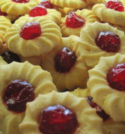 cherry center cookies