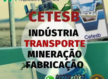 Emissão de Licença Ambiental CETESB | LP LI LO |