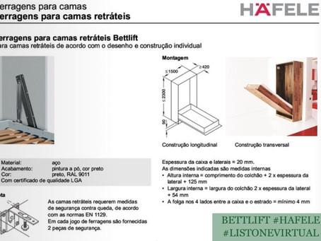 Bettlift: camas retráteis ampliam o espaço disponível no seu quarto