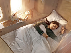 Cathay Pacific reduces mask rules - but only in Business & First Class!