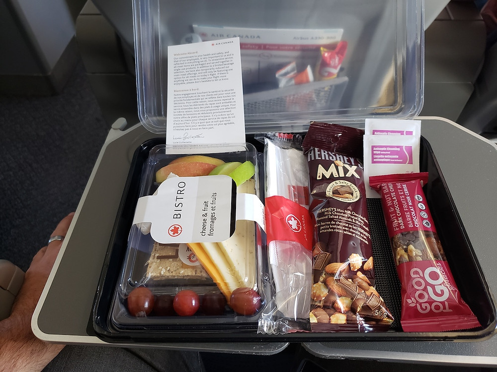 Air Canada Premium Economy - Inflight Catering