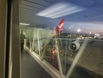Qantas Premium Economy - Johannesburg to Sydney