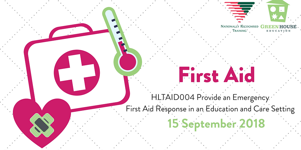 First Aid - 15 September