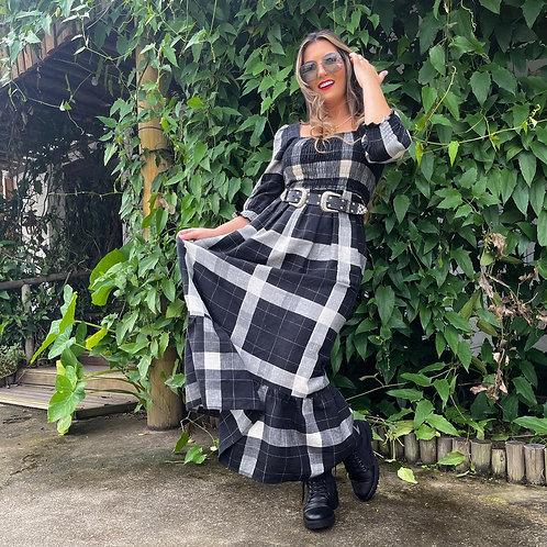 Vestido Elizabeth - Preto