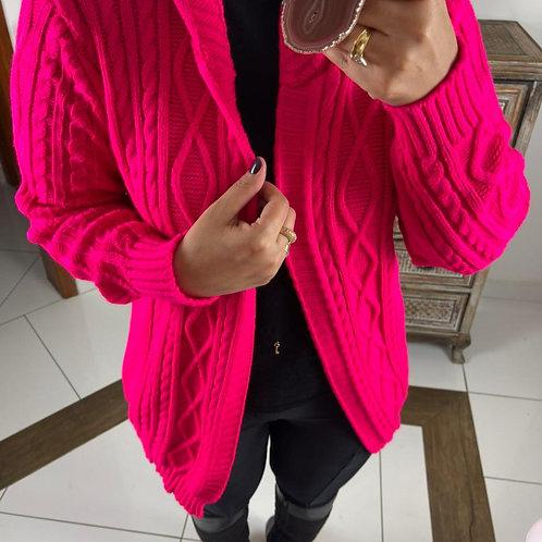 Casaco Naiara - Rosa Neon