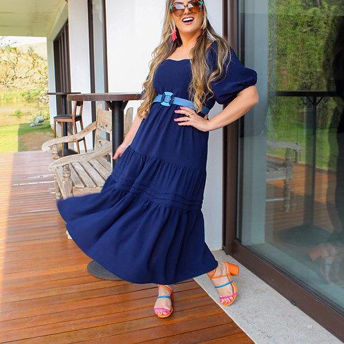 Vestido Tammy - Azul Marinho