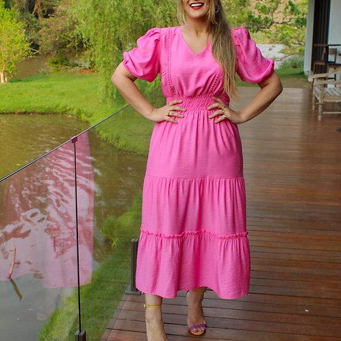 Vestido Tati - Rosa