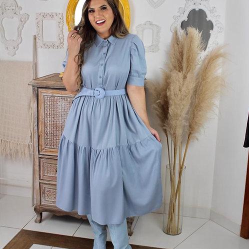 Vestido Duda - Azul