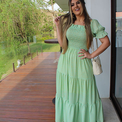 Vestido Iris - Verde