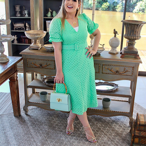 Vestido Midi Suzi - Lesie Verde