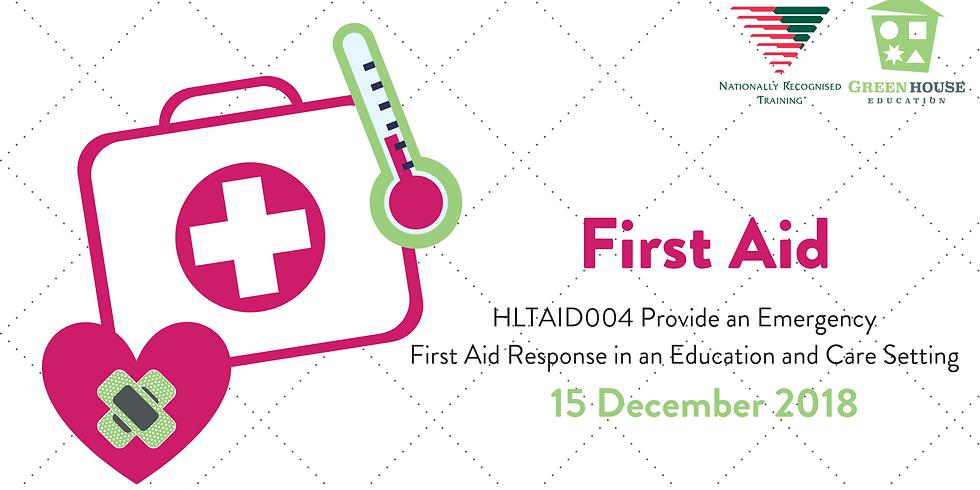 First Aid - 15 December