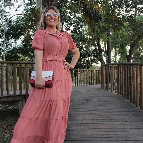 Vestido Emily - Rosa Nude