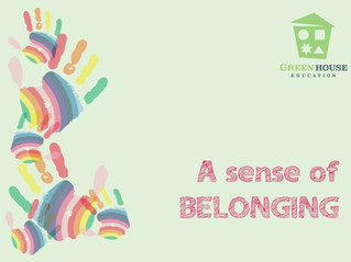 This week in class: A Sense of Belonging