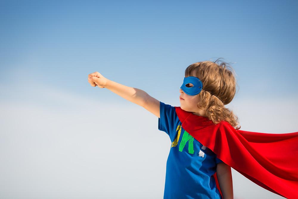 Every child needs a hero