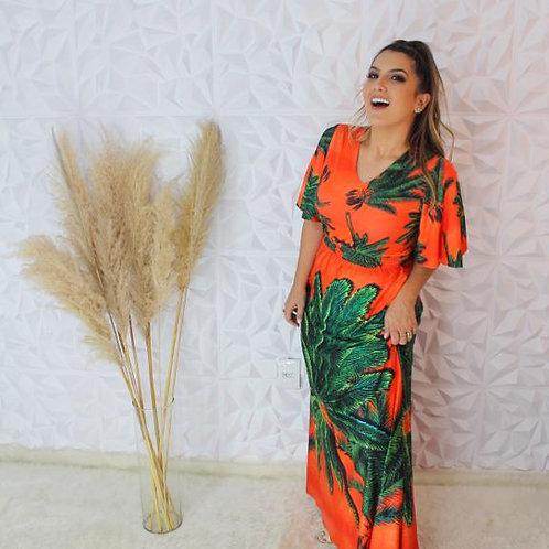 Vestido Longo Palmeira
