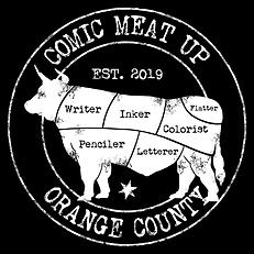 Comic Meat Up - Design 001 - Orange Coun