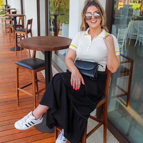 Blusa Tricô Soso - Branco
