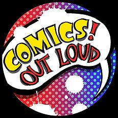 ComicsOutloud - Logo - 02.26.2019 - Blac