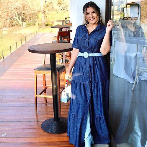 Vestido Longo Jeans Camille