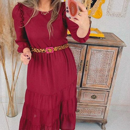 Vestido Catarina - Marsala