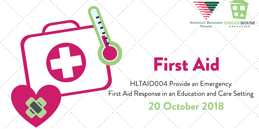 First Aid - 20 October