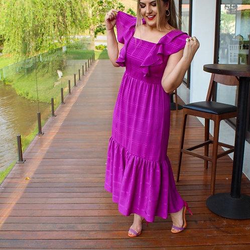 Vestido Mabel - Fúcsia