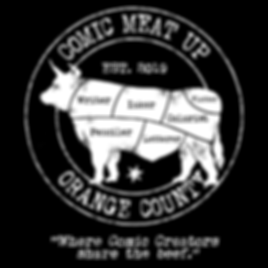 Comic Meat Up - Design 001 - Orange Coun