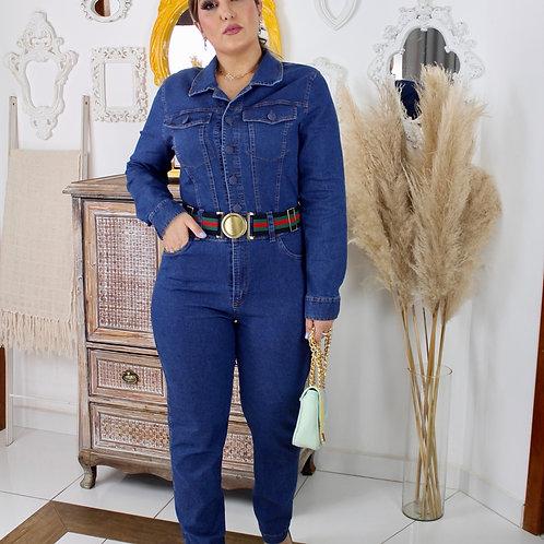 Macacão Jeans Samara