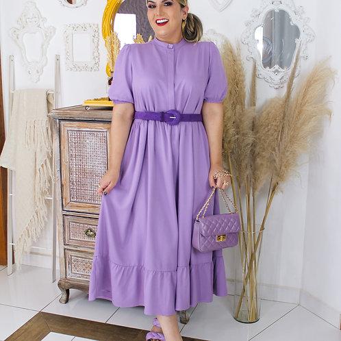 Vestido Lika - Lilás