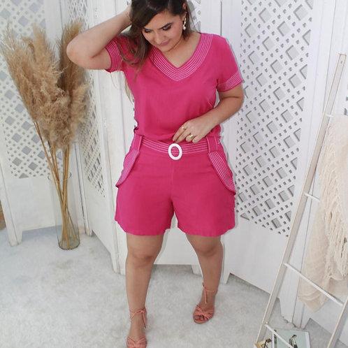 Conjunto Shorts Pink