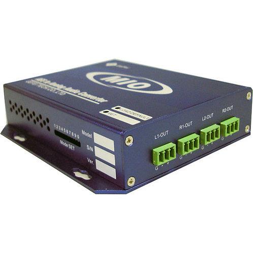 MIO DA-AUD  dual AES/EBU digital audio to dual stereo analog audio converter
