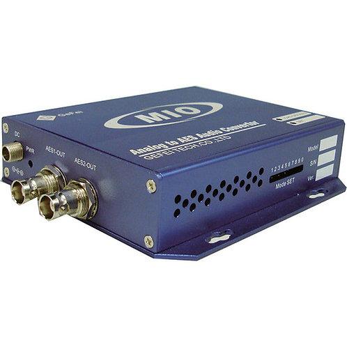MIO AD-AUD Analog Audio to AES Converter