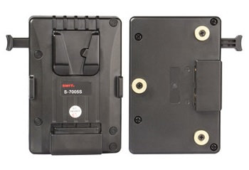 S-7005S V-mount Battery Plate for Gold-mount Camera