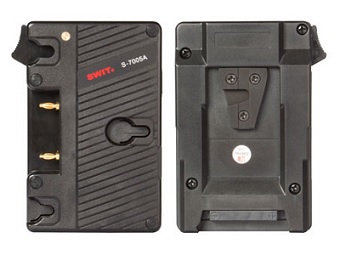 S-7005A Gold-mount Battery Plate for V-mount Camera
