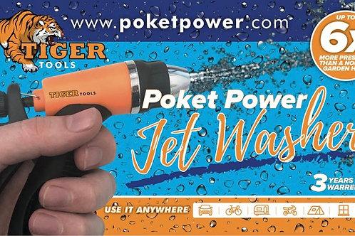 Poket Power Jet Washer Complete Kit