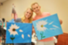 That Paint Thing for your date night, girls night, ladies night, and company all in one paint party.