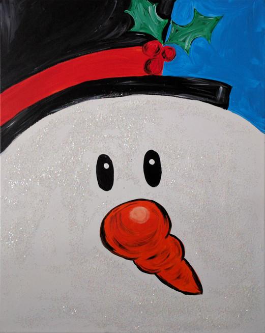 Sparkling Snowman